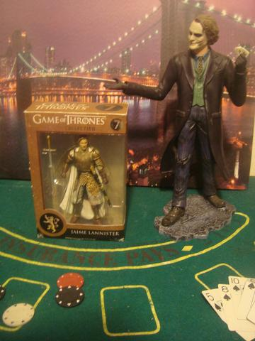 Action figure game of thrones jaime lannister legacy collection funko