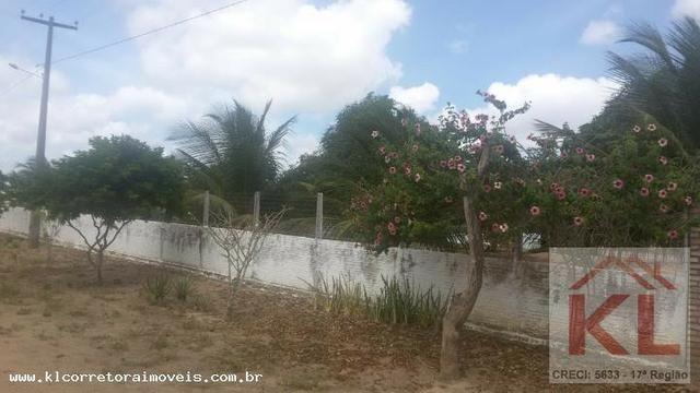 Lindo Sitio com 6.000m, com duas casas(sede),churrasqueira a 30km de natal em Macaiba/RN - Foto 14