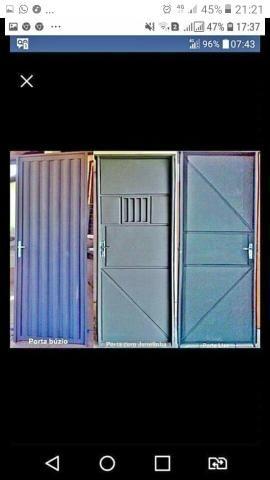 Metal três Marias fabricamos porta,portões,galpões e estruturas em geral - Foto 4