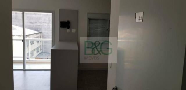 Studio com 1 dormitório para alugar, 34 m² por r$ 2.101,00/mês - ipiranga - são paulo/sp - Foto 3