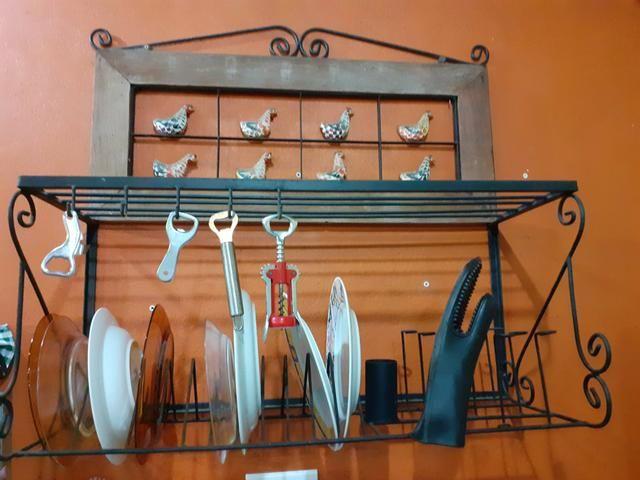 Paneleiro suporte prato rustico - Foto 2