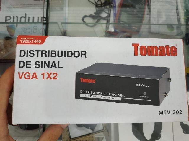 Distribuidor de sinal vga conversor - entrega gratis toda fortaleza