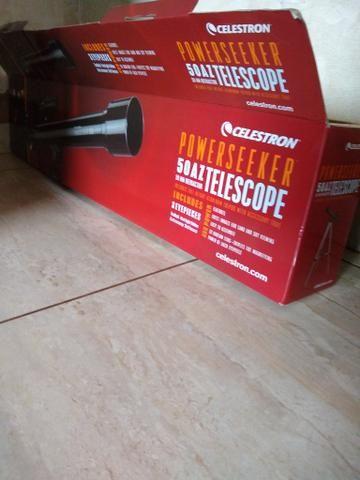 Vendo ou troco telescópio