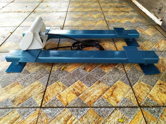 Balança de gado Barra de pesagem 3000 kg Bateria/Led vermelho Brete / Gaiola/ Tronco