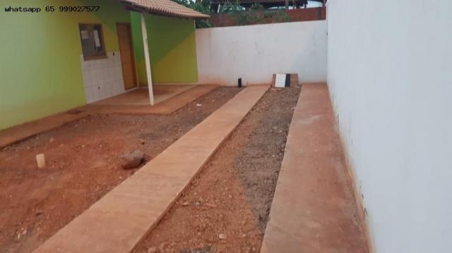 Casa para venda em várzea grande, paiaguas, 2 dormitórios, 1 banheiro, 2 vagas - Foto 12