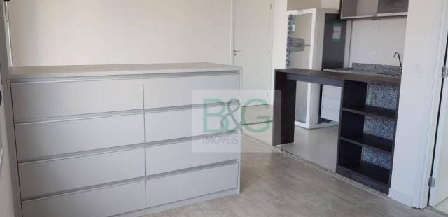 Studio com 1 dormitório para alugar, 34 m² por r$ 2.102,00/mês - ipiranga - são paulo/sp - Foto 14