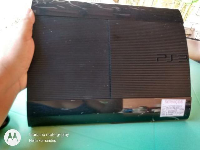 Playstation 3 com 30 jogos + 2 emuladores com 60 jogos - Foto 2