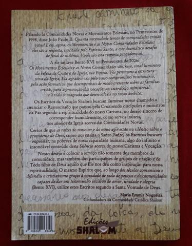 Livro Escritos Shalom - Foto 2