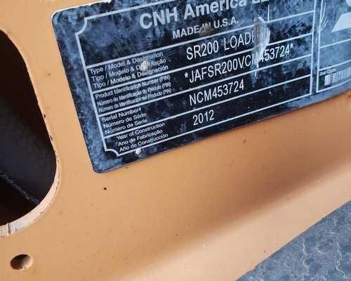 Mini Carregadeira Case SR200 - Ano 2012 - Foto 3