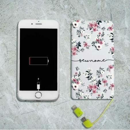 Personalize seu carregador portatil - Foto 2