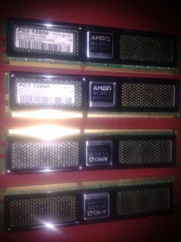 Memorias ddr3 4x2 8.GB 1600Mhz OCZ Black Edition
