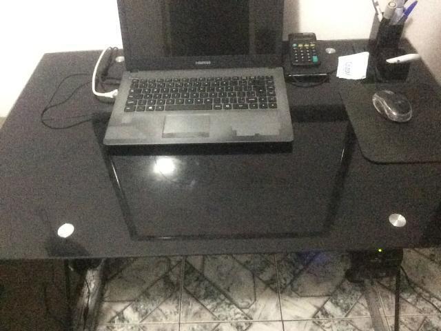 Mesa de vidro escritorio, home office estudos etc