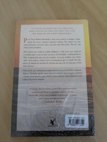 Livro: A Escolha (Nicholas Sparks) - Foto 2