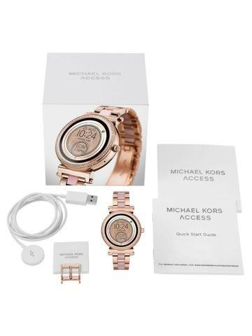 Relogio Michael Kors Access Sofie Lançamento - Bijouterias, relógios ... 68a31a878e