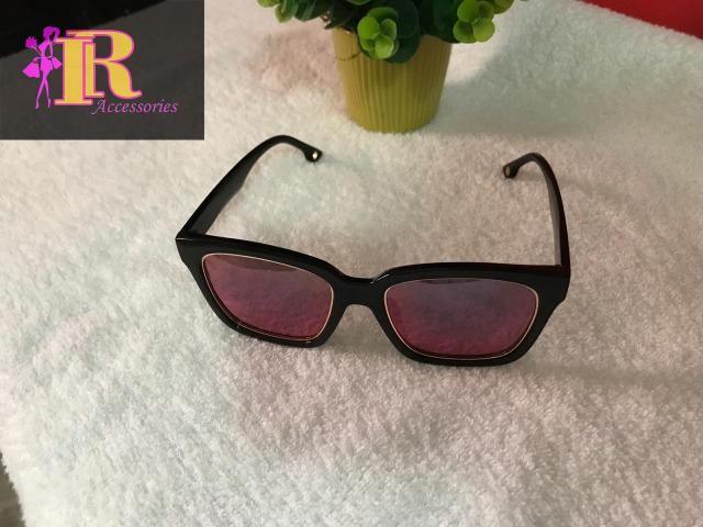 47e81e3c6f7ec Óculos De Sol Feminino Clássico Grande Espelhado - Bijouterias ...