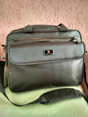 acc31b0b5 Pasta/bolsa transversal masculina com compartimento para Notebook ...
