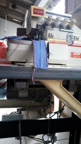 Overlock 5 Fios Industrial 5500 Rpm, Completa, Com Garantia