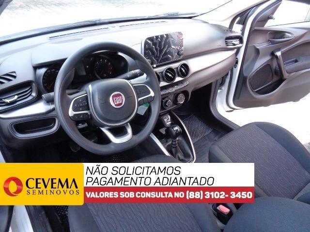 Fiat Cronos Drive Branco 1.3 0km - - Foto 11