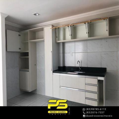 Apartamento com 2 dormitórios à venda, 68 m² por R$ 230.000 - Expedicionários - João Pesso - Foto 4
