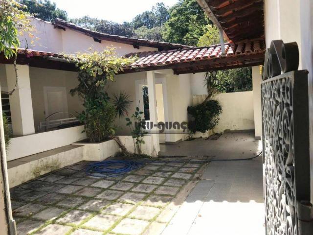 Chácara com 3 dormitórios para alugar, 5000 m² por R$ 7.000,00/mês - Condomínio Vila Suévi - Foto 9