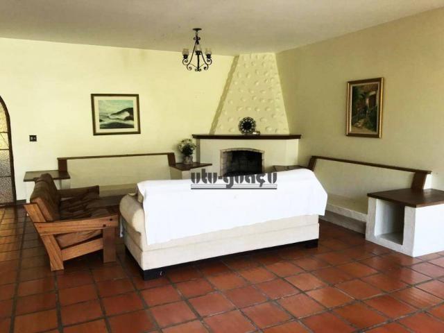 Chácara com 3 dormitórios para alugar, 5000 m² por R$ 7.000,00/mês - Condomínio Vila Suévi - Foto 14