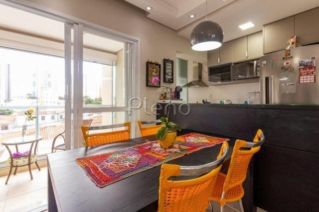 Apartamento à venda com 2 dormitórios em Taquaral, Campinas cod:AP020414