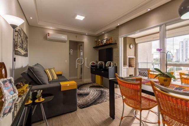 Apartamento à venda com 2 dormitórios em Taquaral, Campinas cod:AP020414 - Foto 3