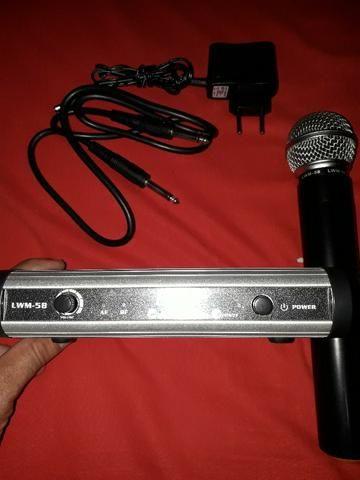 Excelente Microfone Sem Fio Lexsen LWM58 - Não Perca Essa Oportunidade! - Foto 4