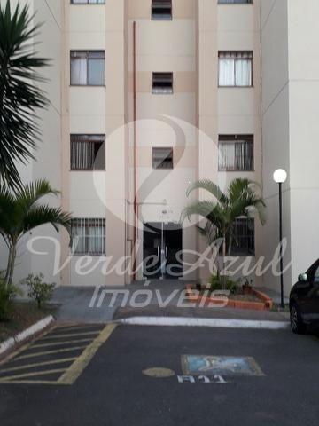 Apartamento à venda com 2 dormitórios em Jardim nova mercedes, Campinas cod:AP005194
