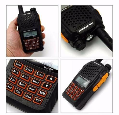 Rádio comunicador baofeng uv-6r - Foto 4