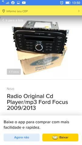 Rádio original Ford Focus - Foto 2