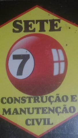 7 construção, reformas e manutenção