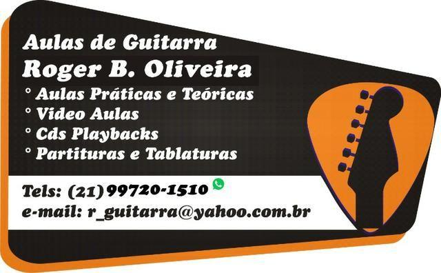 Aulas de Guitarra e Violão Iniciantes e Intermediários