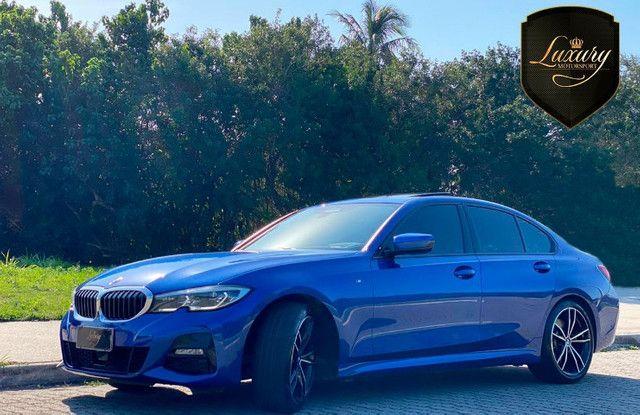BMW 330i 2020 Azul M-Sport - Foto 4