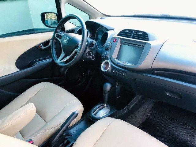 Honda Fit Ex 1.5 Automático - 2014 Com Couro - Foto 9