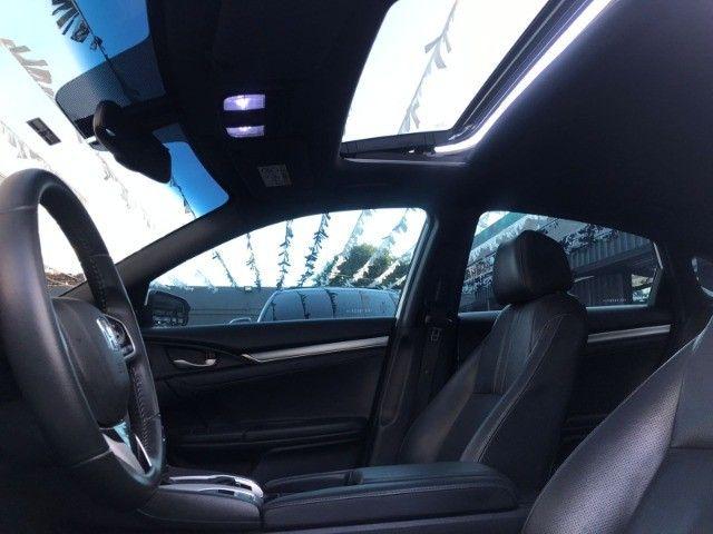Honda Civic Touring 1.5 Turbo Aut Ano 2017 - Foto 9