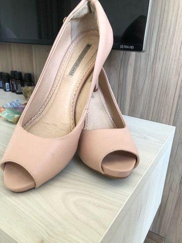 Salto sapatinho de luxo