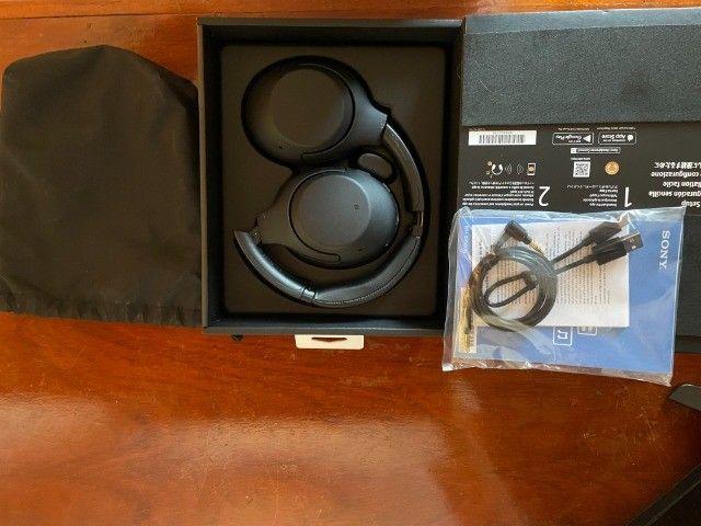 Sony WH-XB900N - Fones de Ouvido Bluetooth Sem Fio  - Cancelamento de Ruído -Alexa - Foto 2