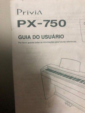 Piano Eletronico Casio Privia PX-750 - Foto 5