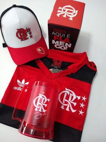 Kit dia dos pais Flamengo retro  - Foto 2