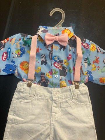 Roupa temática para o aniversário do seu filho roupa bebê  - Foto 2