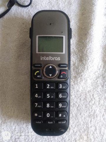 Telefone Sem Fio Intelbras Com Viva Voz E Id Ts5120 - Foto 3