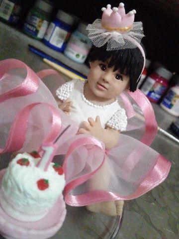 Caricaturas em bonecos,topo de bolo personalizado e miniaturas - Foto 6