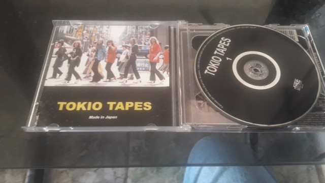 Cd duplo Scorpions tokyo tapes