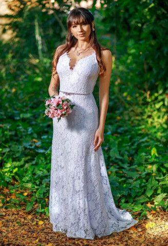 Vestido de noiva cívil
