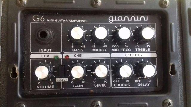 Amplificador Giannini G6 Mini Guitar Amplifier