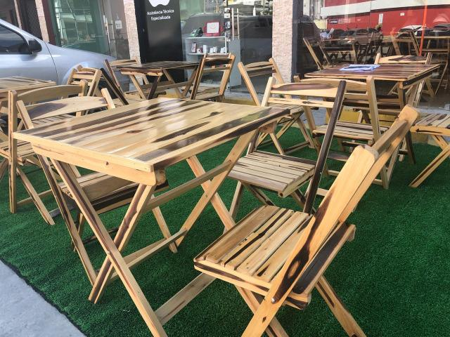 Mesas madeira Bar - Comércio - Foto 6