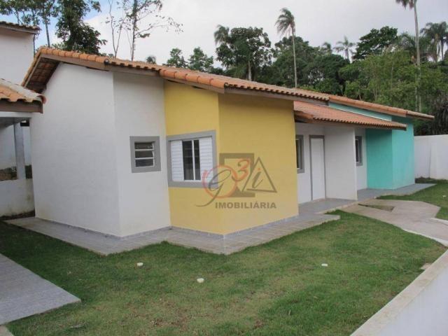 Casa nova 2 dormitorios, 1 suite, 2 vagas, piscina, em condominio Km 44 da Raposo. - Foto 15
