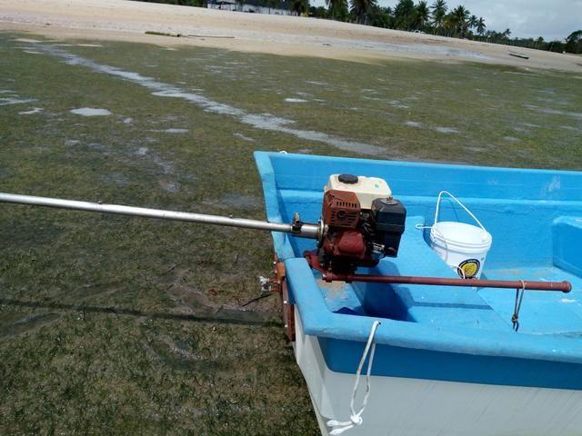 Barco de Fibra 6mt comp por 1.80 boca - Foto 4