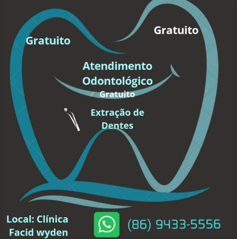 Atendimento odontológico gratuito